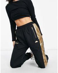 Ellesse Pantalones - Negro