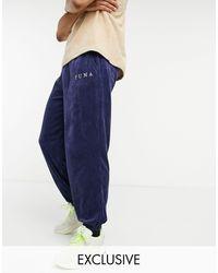 PUMA Cord sweatpants - Blue