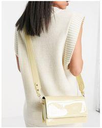 ASOS Elongated Crossbody Bag - White