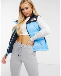 The North Face - Nuptse 1996 Gilet Donna - Lyst