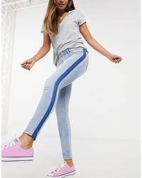 Superdry Alexia - Jeggings blu