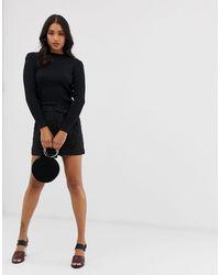 Oasis Spotty Shorts - Black