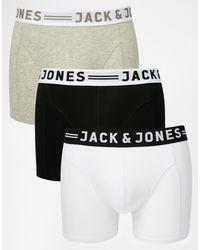 Jack & Jones Комплект Из 3 Боксеров-брифов -мульти - Многоцветный