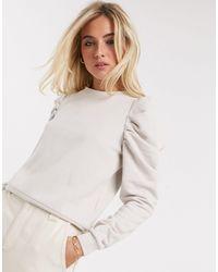 ONLY Sweatshirt Met Pofmouwen - Meerkleurig