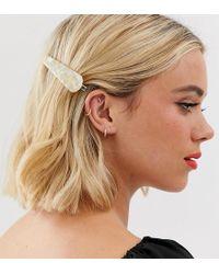 Glamorous Exclusieve Haarspeld Van Imitatieparelmoer - Meerkleurig