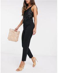 Vero Moda Jersey Cigarette Trousers - Black