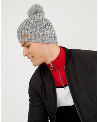 Barts - Dust Bobble Beanie - Lyst