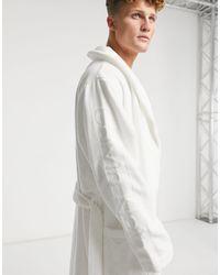 Calvin Klein Белый Халат