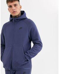 Nike - – Tech – e Fleece-Kapuzenjacke mit Reißverschluss - Lyst