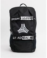 adidas Originals Adidas Football Backpack With Logo - Black