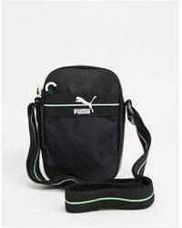 PUMA Mirage Logo Flight Bag - Black