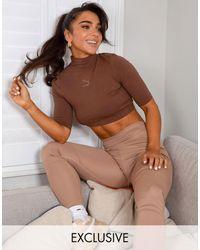 PUMA Training X Stef Fit High Waist Sculpted leggings - Natural