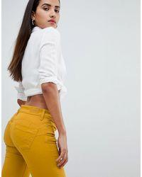 Salsa Wonder Push Up Bum Lift Jean - Yellow