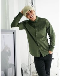 TOPMAN Shirt - Green