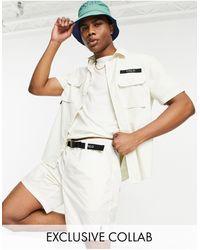Polo Ralph Lauren X Asos Exclusive Collab Ripstop Shorts - White