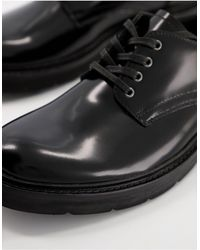 AllSaints All Saints Mersey Shunky Lace Up Shoes - Black