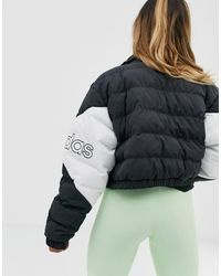 adidas Originals - Cropped Puffer Jacket - Lyst