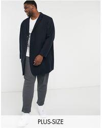 Jack & Jones - Темно-синее Пальто Premium Plus-темно-синий - Lyst