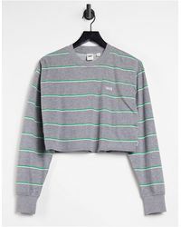 Vans Lineation - T-shirt ras - Gris