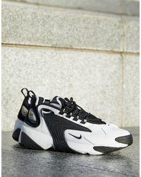 Nike - Черно-белые Кроссовки Zoom 2k-черный - Lyst