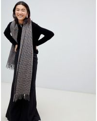 Weekday - Check Scarf - Lyst