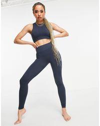 South Beach Yoga Seamless leggings - Grey