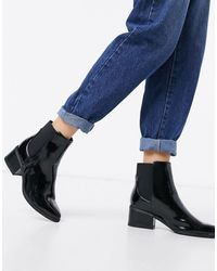 Call It Spring Grilin Heeled Ankle Boots - Black