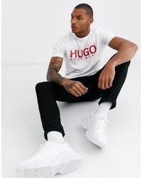 HUGO - Dolive T-shirt - Lyst