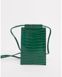 Glamorous Neck Pouch Phone Holder - Green