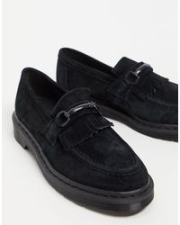 Dr. Martens Adrian Snaffle Loafers - Black
