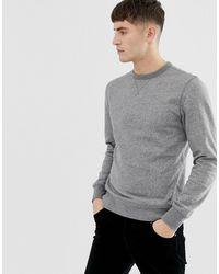 J.Crew Mercantile Crewneck Sweatshirt In Grey Marl - Gray