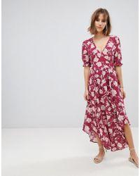 RahiCali - Rahi Secret Love Midi Dress - Lyst