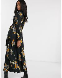 Vero Moda Maxi Shirt Dress - Black