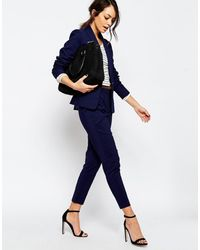 New Look Slim Leg Pant - Navy - Blue