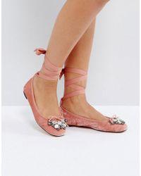Office - Velvet Ballet Shoes - Lyst
