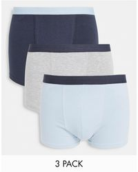 New Look - 3 Pack Boxers - Lyst