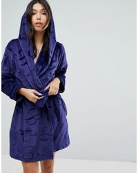 Ted Baker - B By Robe Short Embossed Robe - Lyst