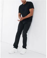 Edwin ED55 - Jean classique ajusté - Jean noir