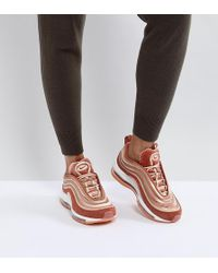Nike - Air Max 97 Ultra '17 Velvet Trainers In Dusty Peach - Lyst