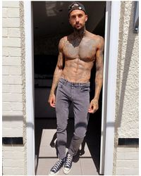 Only & Sons Jeans slim grigio slavato