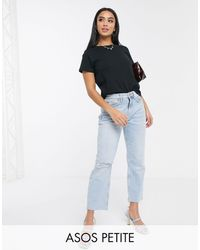 ASOS Camiseta con cuello redondo - Negro