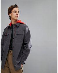 Volcom - Snow Field Bonded Flannel Jacket - Lyst