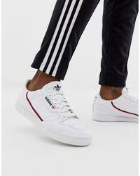 adidas Originals Белые Кроссовки Vegan Continental 80-белый