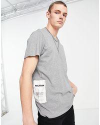 Religion – Schlichtes T-Shirt - Grau