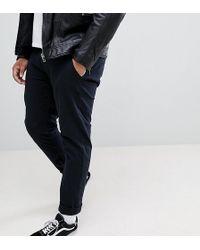 Blend - Plus Slim Fit Chino In Black - Lyst