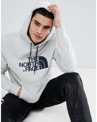 316e3a73b Lyst - The North Face Drew Peak Pullover Hoodie In Grey Heather in ...