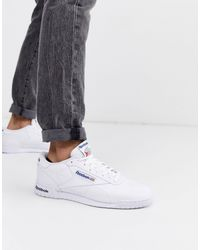 Reebok Ex-o-fit Leather Trainers - White