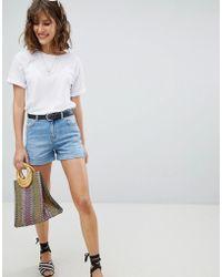 Warehouse - Turn Up Shorts - Lyst