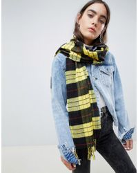Cheap Monday - Check Scarf - Lyst