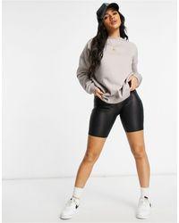 Missguided Базовый Oversized-свитшот -серый